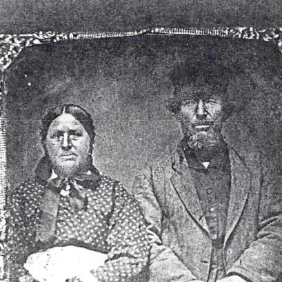 William Burger & Louisa Manthei, 1867